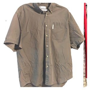 Columbia Short Sleeve Shirt Free with Purchase L